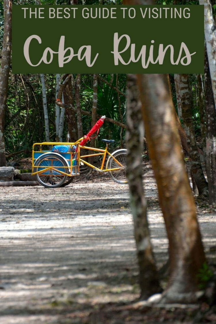 Discover everything you need to know before visiting Coba ruins, Mexico - via @clautavani