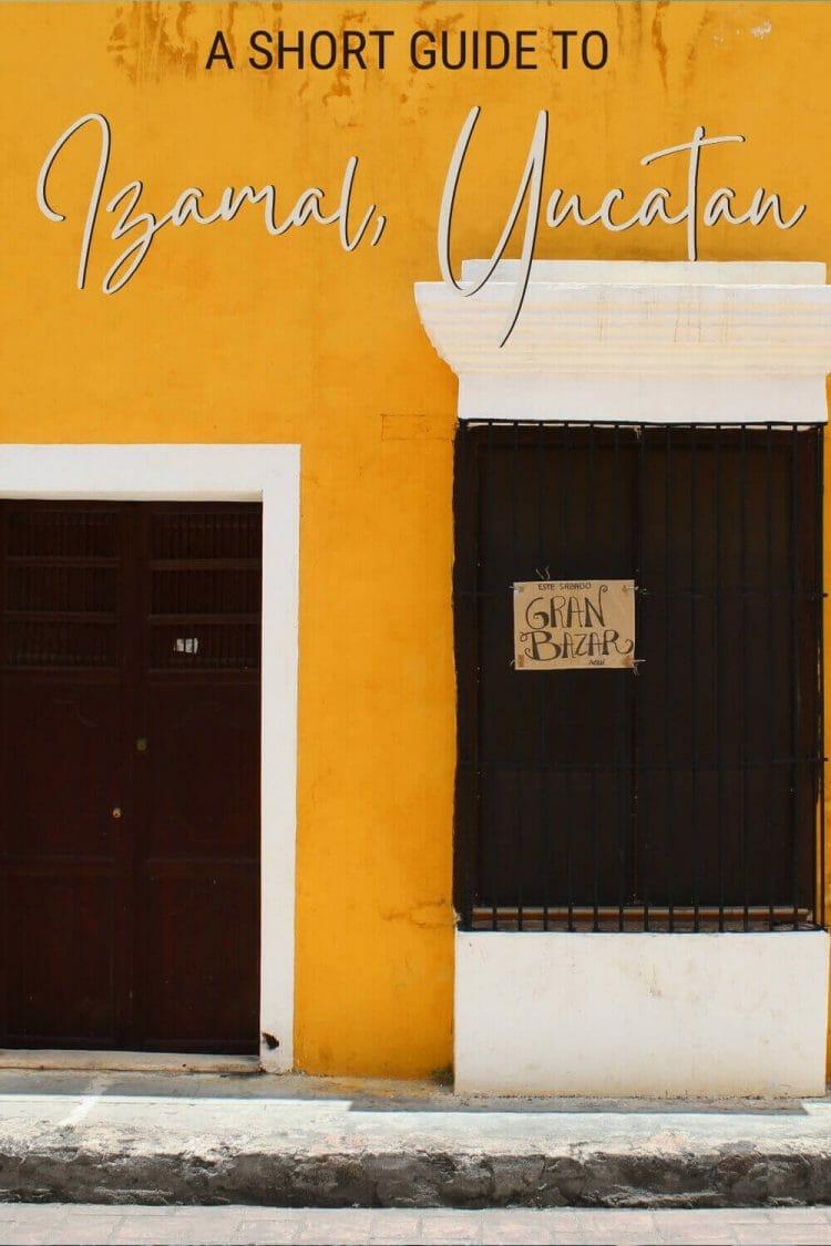 Check out this brief guide to Izamal, Yucatan - via @clautavani