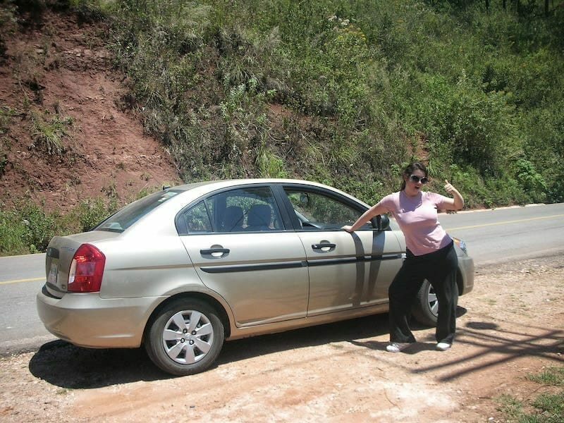 Renting a car in Mexico