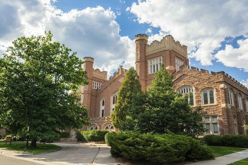 UC Boulder campus