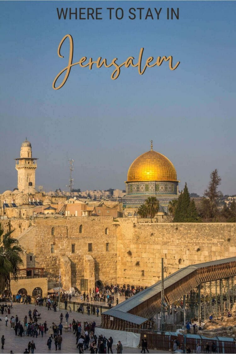 Discover the best places to stay in Jerusalem - via @clautavani