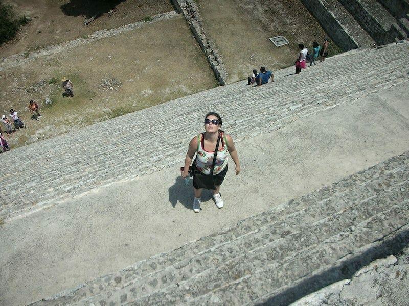 Visiting Uxmal Ruins Mexico