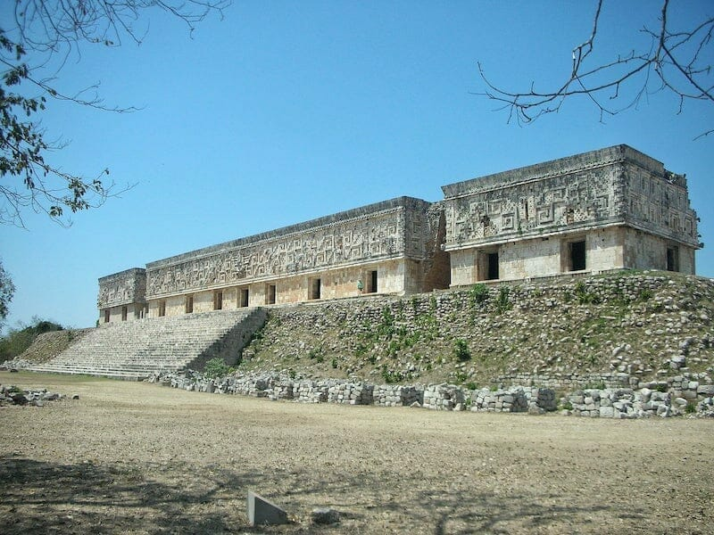 Visiting Uxmal Governor's Palace